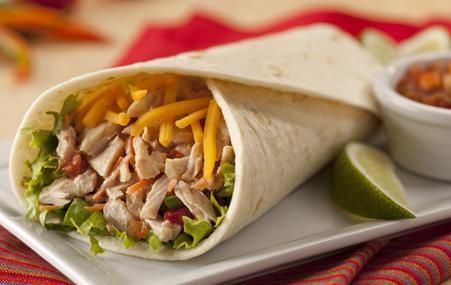 """Just had """"Tuna Salsa Wrap"""" for lunch. It tasted amazing. It was cheap and simple to make."""