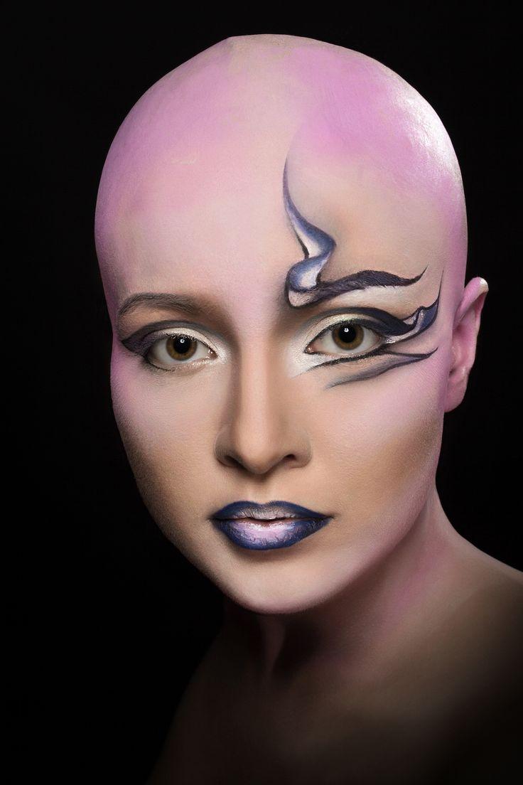 Make-up: Silvia Castellucci Model: Ida © Lumina Sense art lab - Servizio fotografico realizzato presso studio fotografico limbo cyclorama e sala posa Lumina Sense art lab a Roma con prodotti Kryolan