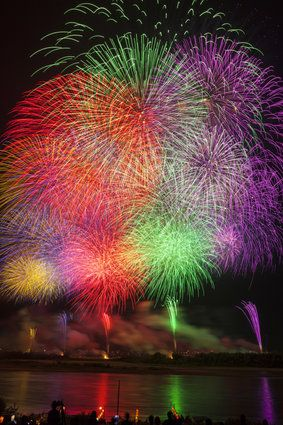beautiful fireworks                                                       …