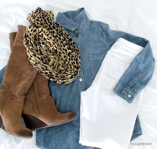 Hi Sugarplum | White Jeans After Labor Day