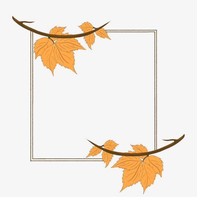 Hand Drawn Autumn Leaves Plant Nostalgic Border Maple Leaf Clipart Hand Painted Hand Drawn Plants Png Transparent Clipart Image And Psd File For Free Downloa Leaf Clipart Autumn Leaves Maple Leaf