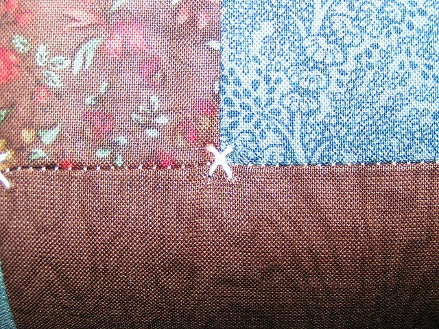 Different Way To Tie A Quilt Quilts Pinterest Quilt The O Jays And End Of