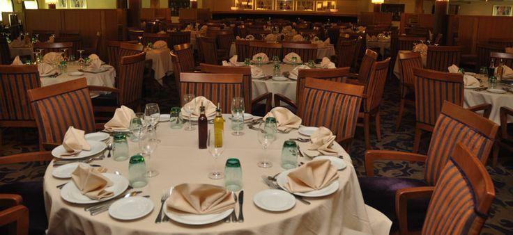 Restaurante del Crucero Monarch de Pullmantur