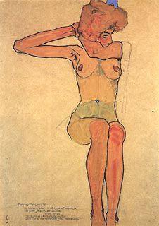 Egon Schiele... Gerti Schiele (sister)