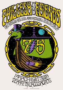 PHIL LESH AND FRIENDS w/Chris Robinson - San Rafael 2015 by Alan Forbes