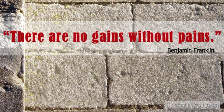 no pain no gain essay pdf