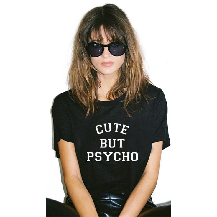 Cute But Psycho Tee //Price: $11.95 & FREE Shipping //     #girls