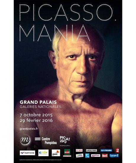 Picasso Mania aux Galeries Nationales Du Grand Palais.