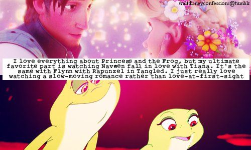 """This is why Princess and the Frog is perfect. It's the moments like when he drops the coin and smiles after he sees her dancing during """"Dig A Little Deeper"""" that make me love this movie a ridiculous amount"""