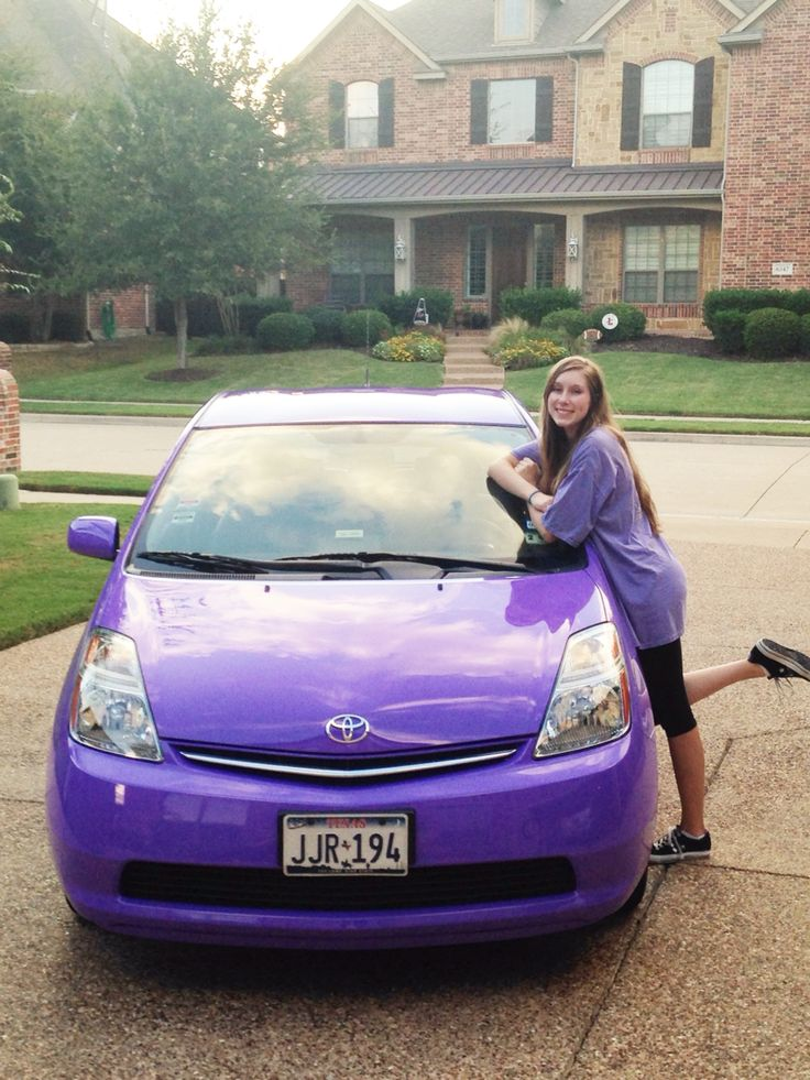 My purple Prius, custom paint job from MAACO | Too cool ...