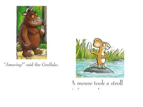 Simple Gruffalo & Dinosaur Read Write Inc Phonics