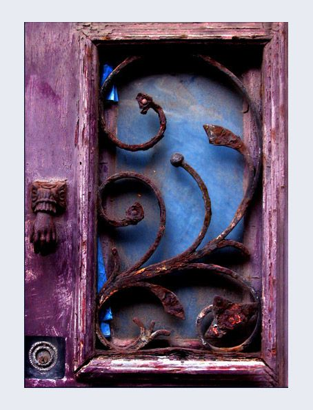 old times - Door in Povoa de Varzim, Porto.  Portugal