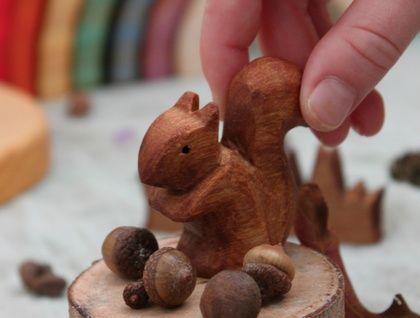 Wooden Squirrel