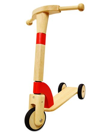 Get scootin' with the Debut wooden scooter from I'm Toy