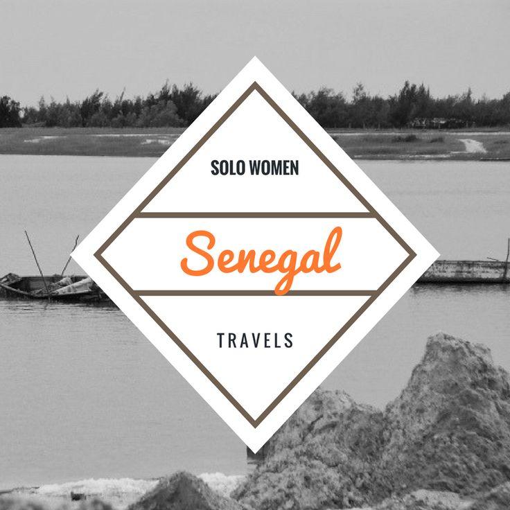 Political Map Of Senegal%0A Solo women travel to Senegal