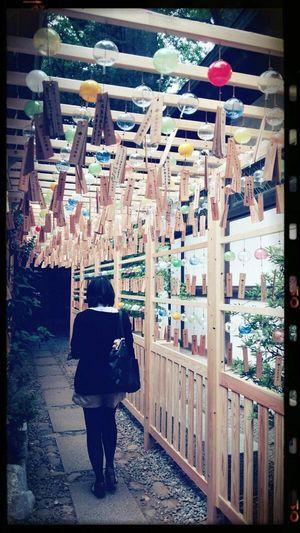 浴衣で行きたい!川越氷川神社の「縁むすび風鈴」が幻想的でキレイ☆ - NAVER まとめ