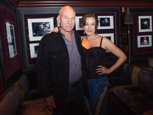 Patrick Stewart and his third wife, jazz singer Sunny Ozell