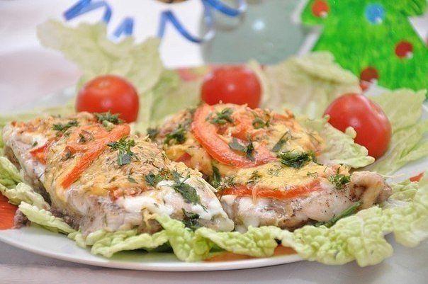 Рыбка с сыром и помидорами / IP Neo