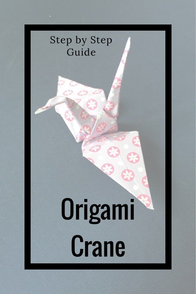 Origami crane step by step guide origami cranes a well for Origami crane step by step