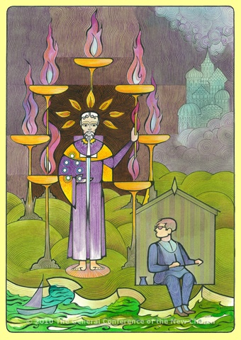 lovely tarot like cards for the symbolism in the Book of St John (Revelation)