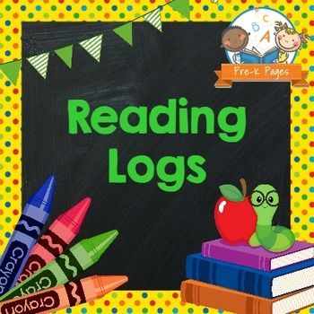 """Fun, printable monthly reading logs to encourage reading at home! A super simple solution to """"homework"""" for your Preschool, Pre-K, or Kindergarten students. Just print, copy, and send home!The 28 page Reading Log Packet in PPT format contains:*12 reading logs, one for each month of the year.*Each month is available in two versions, one that requires a parent signature and one that does not- you choose the one that best meets your needs.*Pre-written letter to parents about the importance of…"""