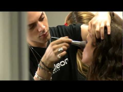 Napoleon Perdis Makeup Looks from Fashion Launch 2012