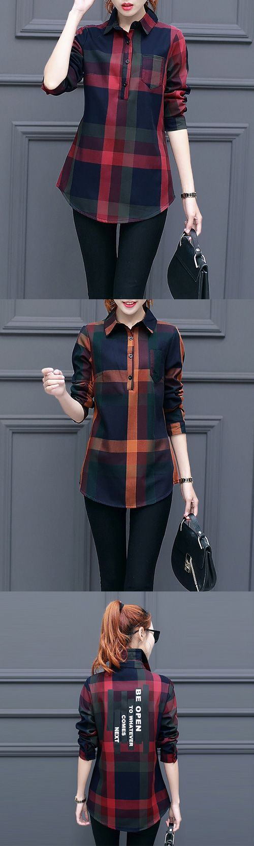 Women's Casual/Daily Simple Fall / Winter Print Shirt