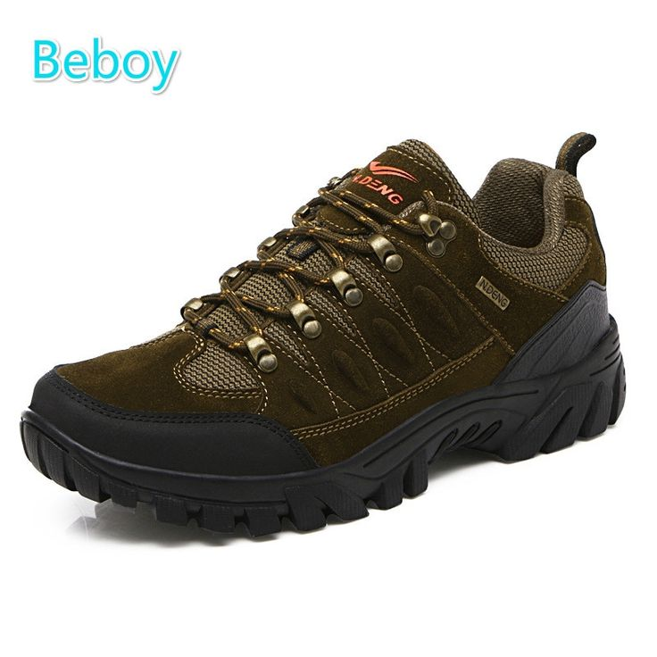 49.72$  Watch here - http://ailbi.worlditems.win/all/product.php?id=32771298366 - Beboy Waterproof Hiking Shoes Men Genuine Leather Trekking Shoes Antiskid Resistant Mountain Climbing Walking Shoes Sneakers