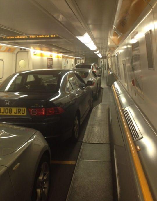 Eurotunnel Victor Hugo Passenger Terminal in Folkestone, Kent