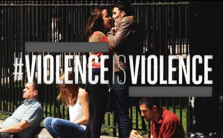 Violência é violência. Independente do gênero? | #Homem, #ManKindInitiative, #Mulher, #Violence, #Violência, #ViolênciaéViolência