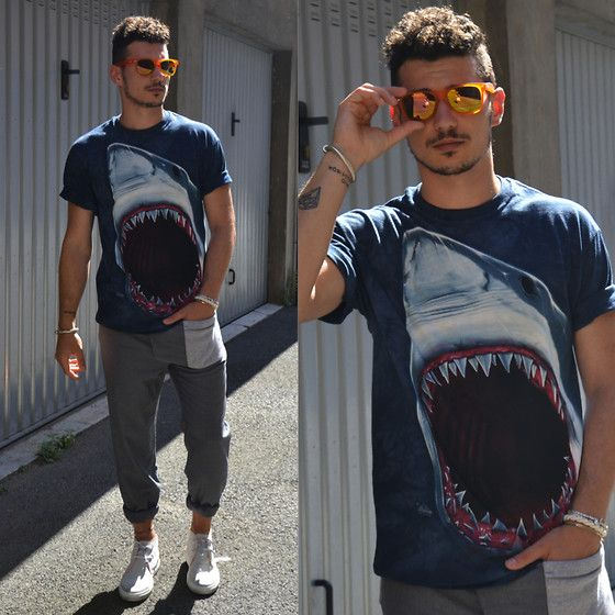 The Mountain Tshirt, Duke And Dude Pants, Ylati Shoes, Redele Sunglasses