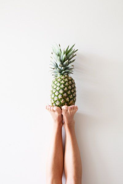 pineapple toes.