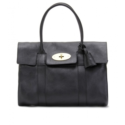 mytheresa.com - Mulberry - BAYSWATER LEATHER BAG - Luxury Fashion for Women / Designer clothing, shoes, bags - StyleSays