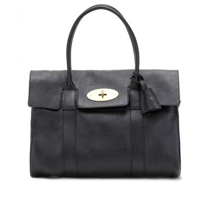 mytheresa.com - Mulberry - BAYSWATER LEATHER BAG - Luxury Fashion for Women / Designer clothing, shoes, bags - StyleSays