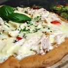 Best whole wheat pizza dough crust. Substitute 1c of ww flour for 1/4c ground flax and 3/4c wheat germ