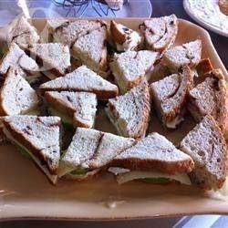 Foto recept: Sandwiches met appel en kaas