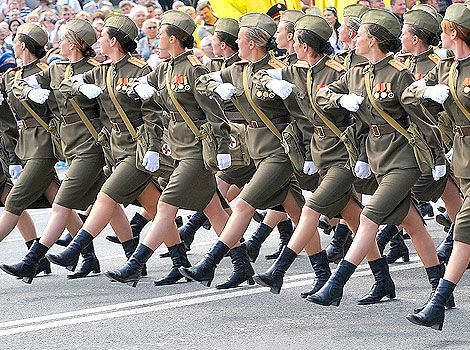 Womens Police Parade Shoes