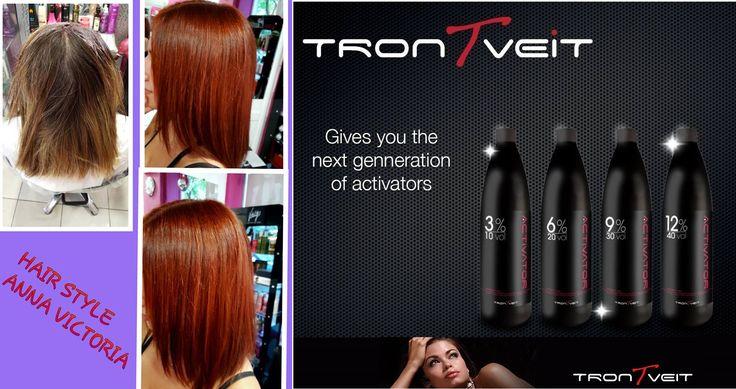 θεραπεία από το πρώτο λεπτό TRONTVEIT ACTIVATOR.Η νέα γενιά των Οξυζενέ! Από την πρώτη στιγμή σε κάθε παροχή που θα κάνετε, η λάμψη των μαλλιών,η ενυδάτωση,η μεταξένια υφή,τα μοσχοβολιστά μαλλιά αλλά πάνω από όλα η θεραπεία από το πρώτο λεπτό είναι ΑΠΕΡΙΓΡΑΠΤΑ!!! Ποτέ ξανά η εμπειρία των πελατών σας δεν θα είναι η ίδια και η δικιά σας δουλειά θα περάσει σε άλλη διάσταση! Ευχαριστούμε το ΚΟΜΜΩΤΗΡΙΟ HAIR STYLE Anna Victoria γιά την φωτογραφία που μοιράστηκε μαζί μας! Οί δικές σας…