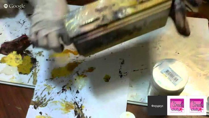 Рукоделие non-stop День 11. Фирдаус Батдалова Тема: Как ВЖИВИТЬ фото-распечатку на крышку деревянной купюрницы из ЯШМЫ