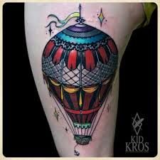 tatuaje globo aerostatico - Buscar con Google