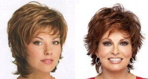 Nejlepší účesy pro ženy s kulatým obličejem po 40. roku života. Přirozené a jednoduché!