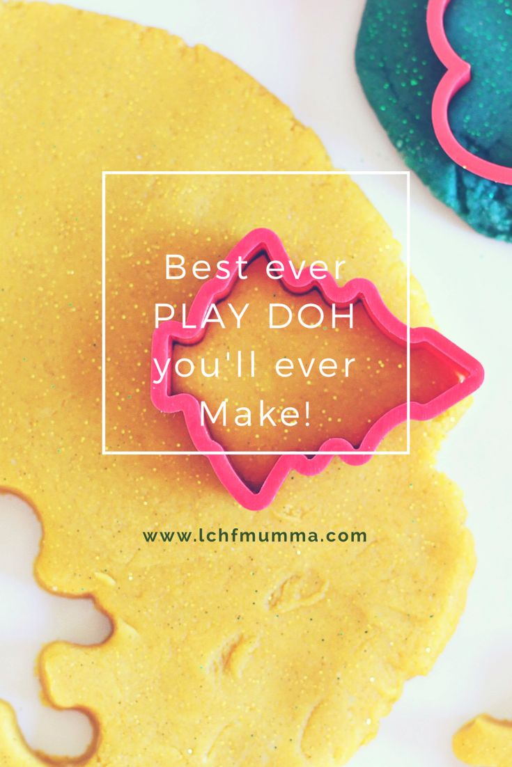 BEST ever play doh you will ever make!