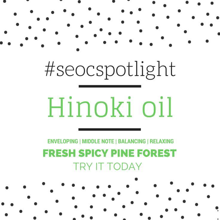#SEOCSpotlight | Hinoki Oil Japan | New Essential Oil | Order Online at www.seoc.com.au