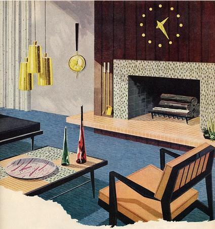 mitte des jahrhunderts mitte des jahrhunderts dekor design illustrationen haus der mitte des jahrhunderts mitte des jahrhunderts moderne wohnzimmer - Mitte Des Jahrhunderts Modernes Wohnzimmer