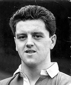 Tommy Taylor - Manchester United (Lost his life in the Munich Air Disaster on Thursday 6th February 1958)