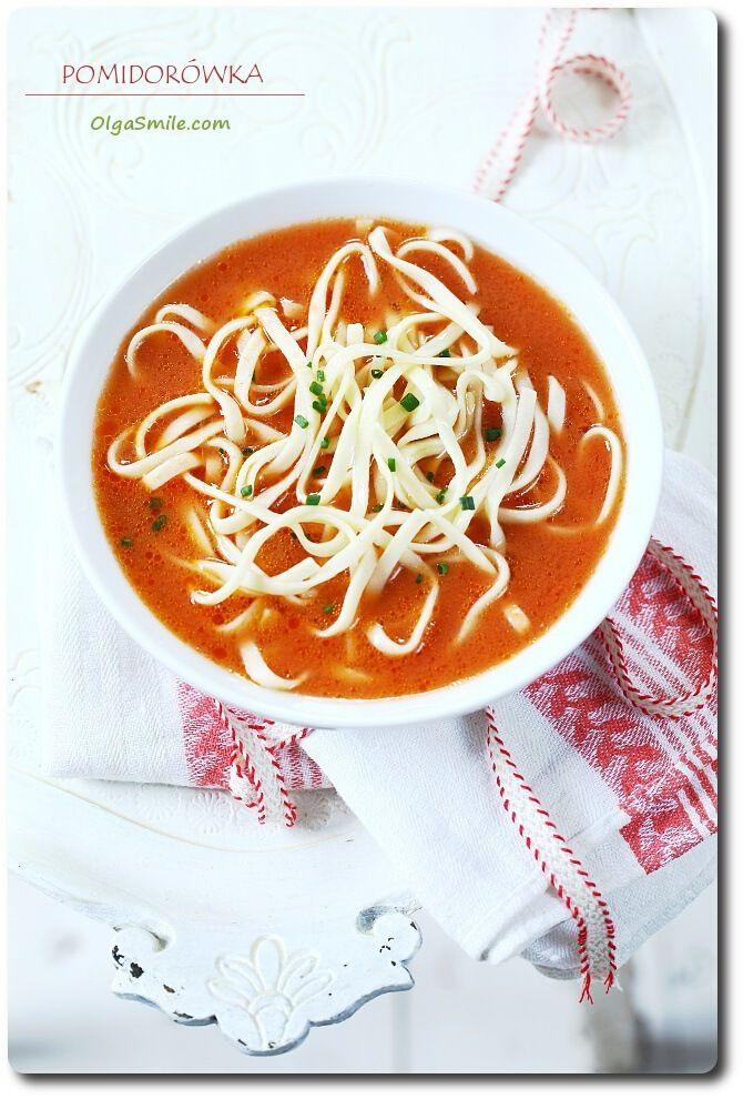 Pomidorówka z koncentratem Pudliszki Olgi Smile