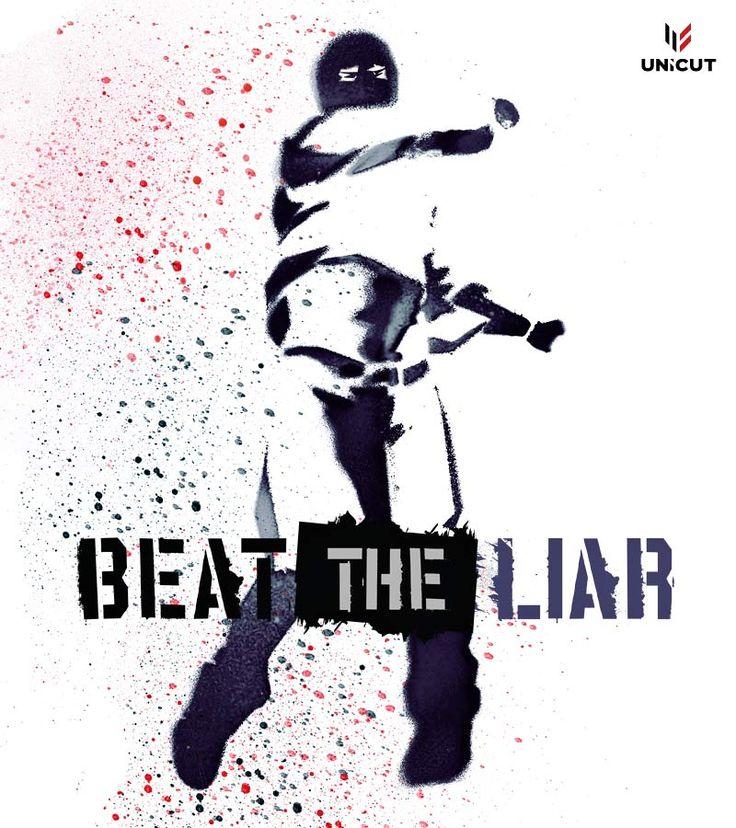 "Grafika na t-shirt ""Beat The Liar"""