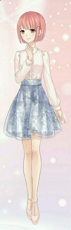 Manga fille robe