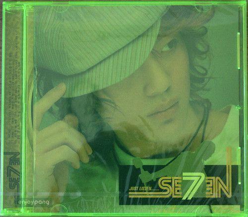 Seven / 1st Album CD - Just Listen / released in 2003