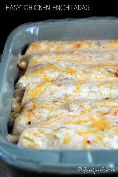 This chicken enchilada recipe is simple to make and oh-so-delicious. I got this recipe from a friend many years ago, and it is a favorite in our house.